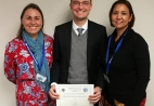 Dr Charle Viljoen was awarded the first prize of an R8000 research grant to for his presentation on 'A prospective cohort study comparing blended learning with lecturer-based training in electrocardiography'.